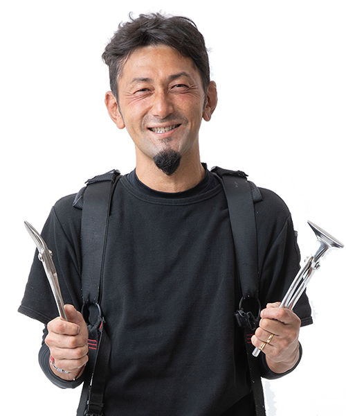 板金職人 柴田憲男